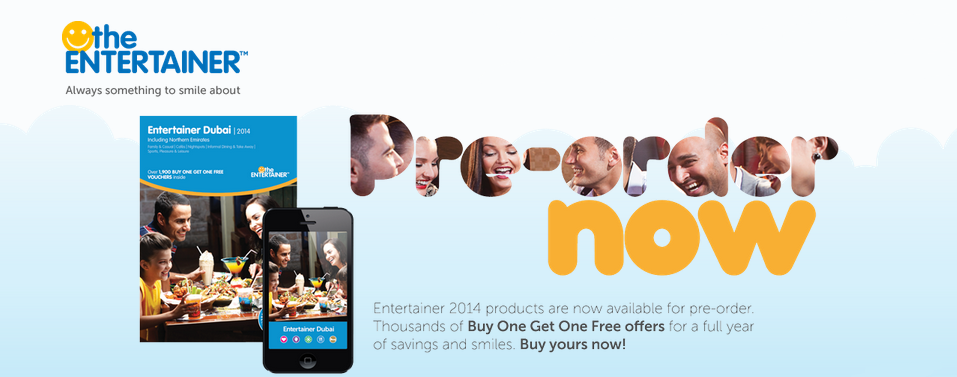 The Entertainer App Giveaway – Sign up to Win a free 2014