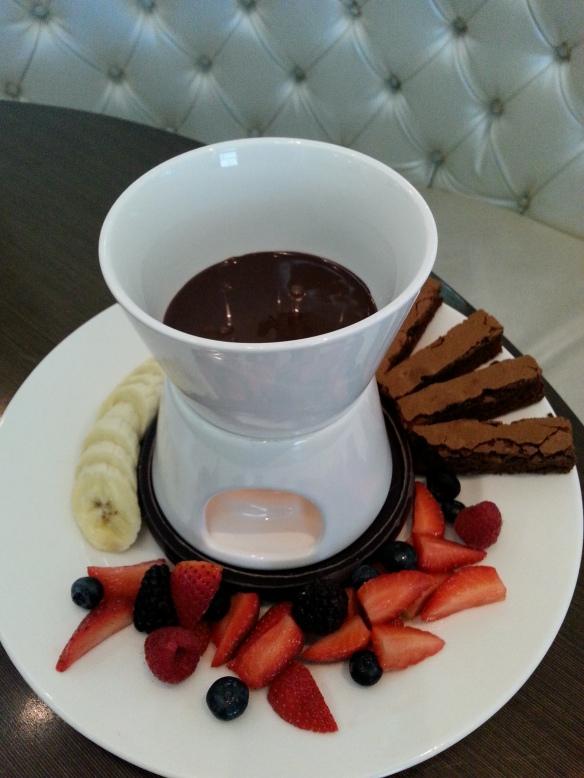 choc fondue